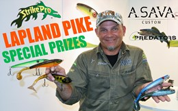 Special prizes for Lapland Pike 2018 winners and participants! Strike Pro, 4Predators, ASAVA Custom.